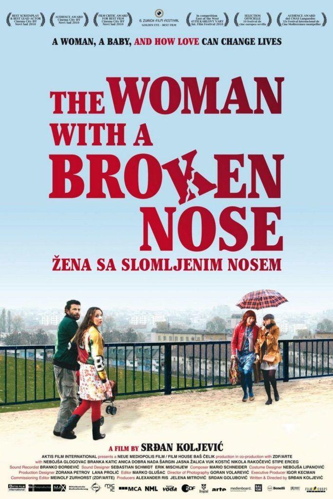 La mujer con la nariz rota