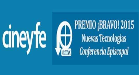 Cine y Fe recibe el Premio ¡Bravo! de Nuevas Tecnologías